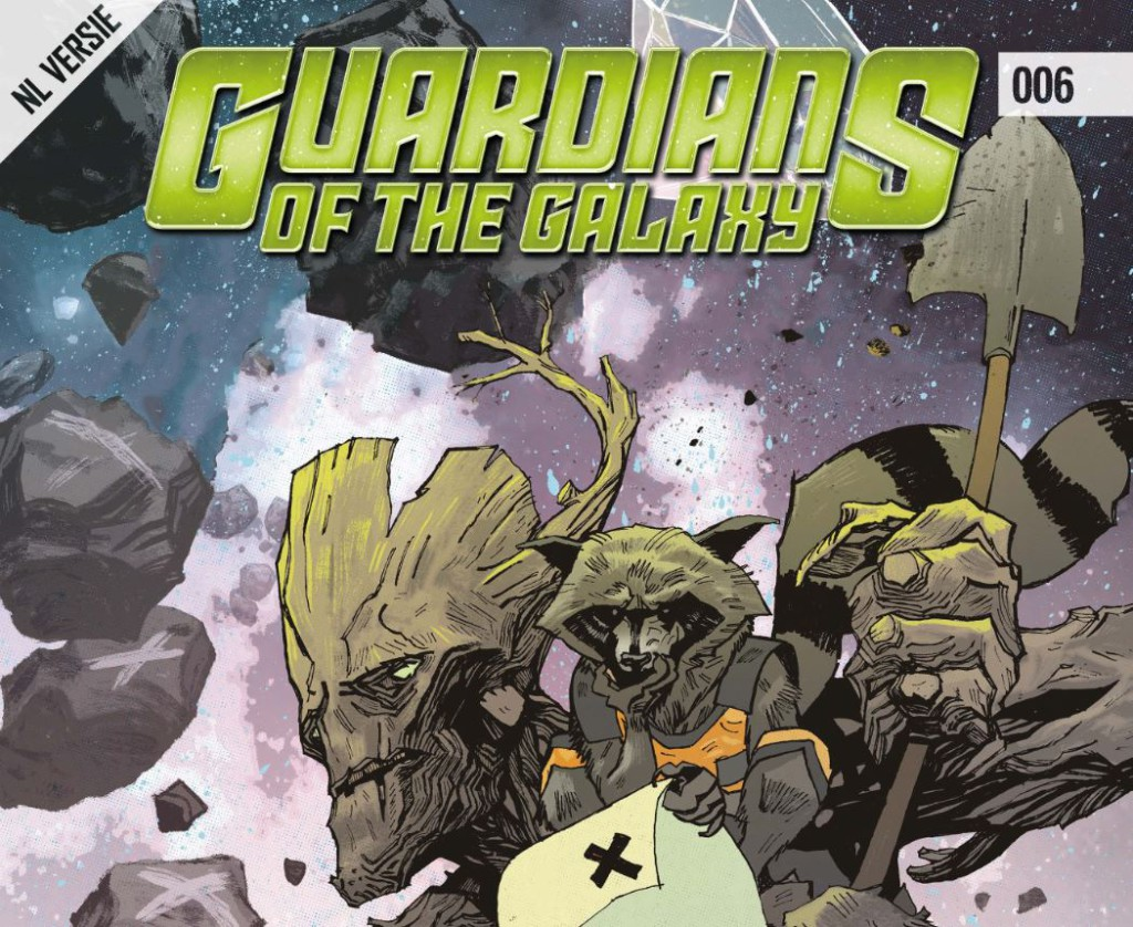 Guardians of the Galaxy #006 Banner