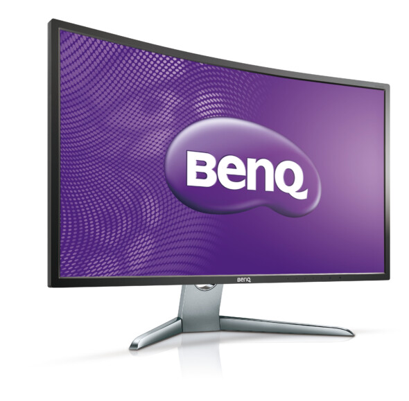 BenQ announces a new curved EX3200R monitor