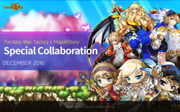 Fantasy War Tactics Meets MapleStory in New Collaboration