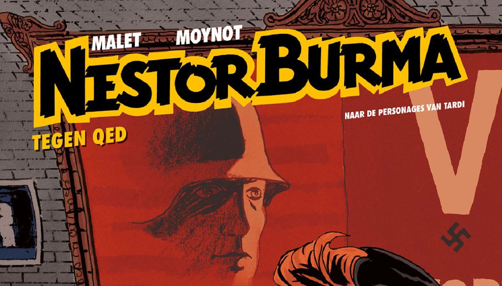 Nestor Burma #11 Tegen QED Banner