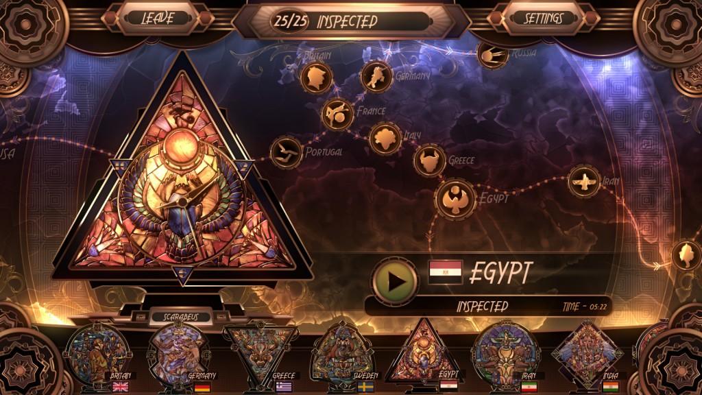 glass masquerade egypt