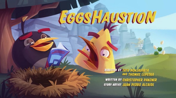 Angry Birds Season 3 Eggshaustion