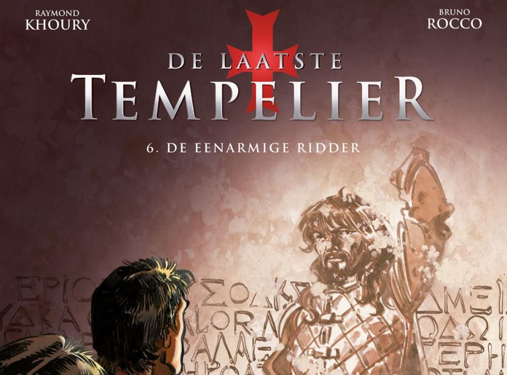 De laatste tempelier #6 De eenarmige ridder Banner