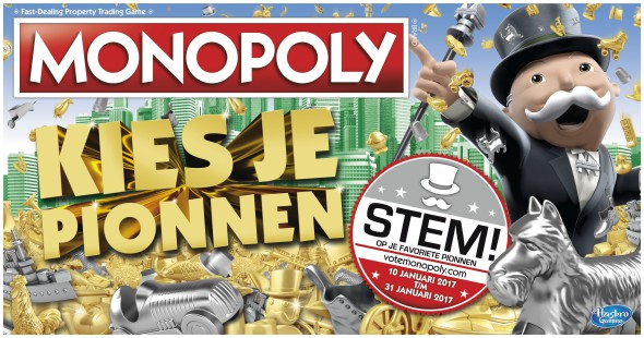Historical Voting Campaign For New Monopoly Pawn Pieces