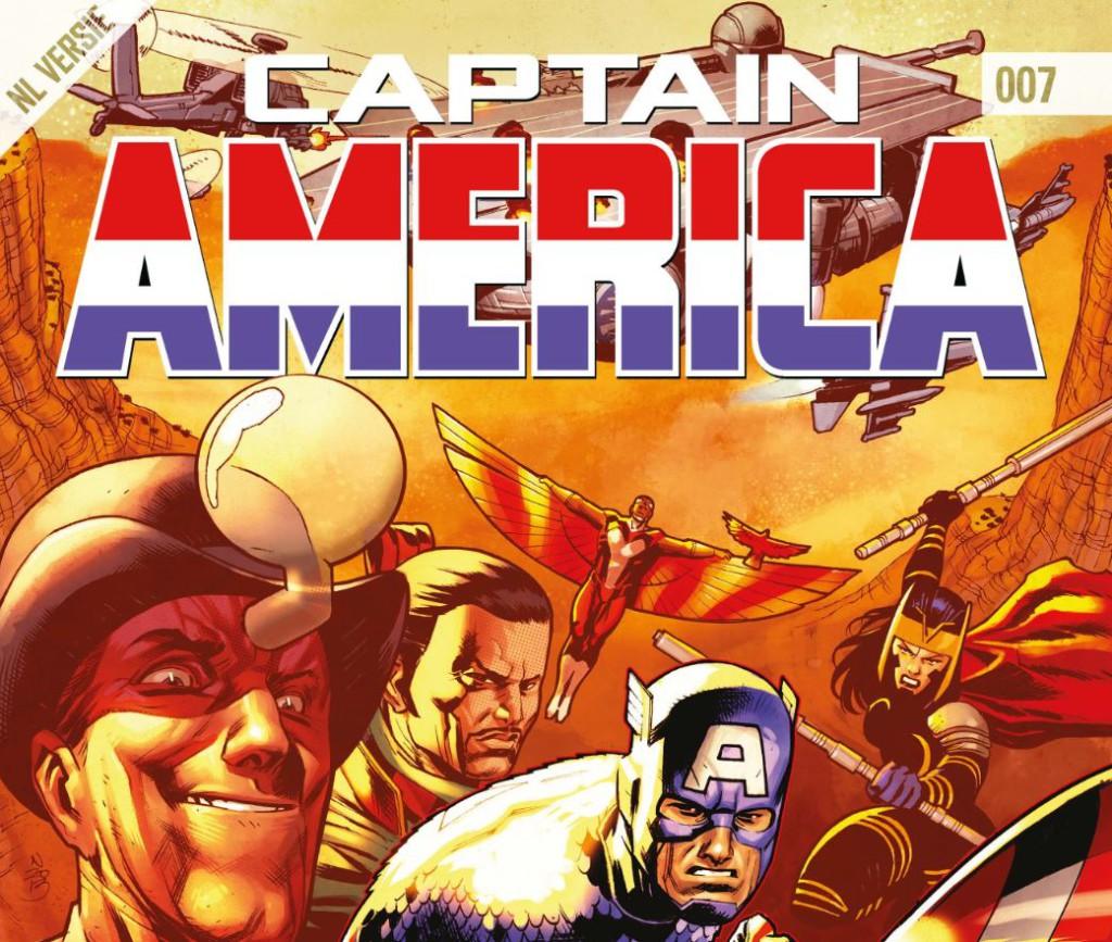 Captain America #007 Banner