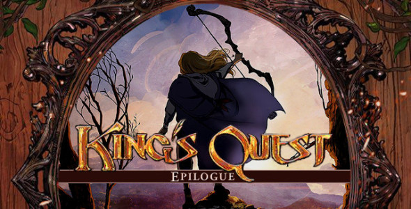 Kings Quest Epilogue title