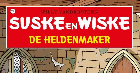 Suske en Wiske #338 De Heldenmaker Banner
