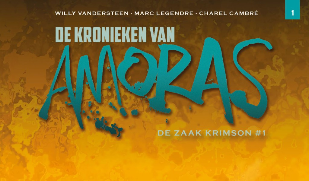 De Kronieken van Amoras De Zaak Krimson #1 Banner