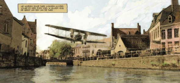 De Rode Baron 2 illustration