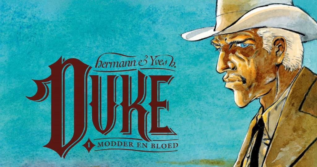Duke #1 Modder en Bloed Banner