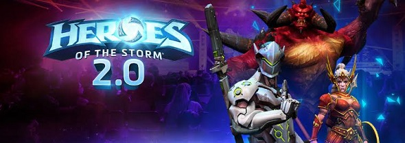 Heroes of the Storm 2.0 – now live!