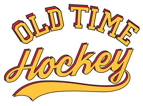 Old time hockey logo