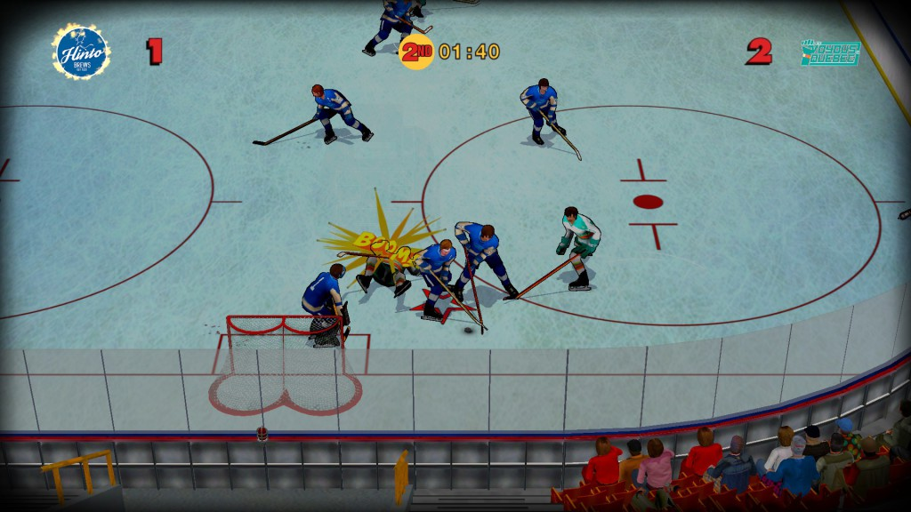 Old time hockey screen 2