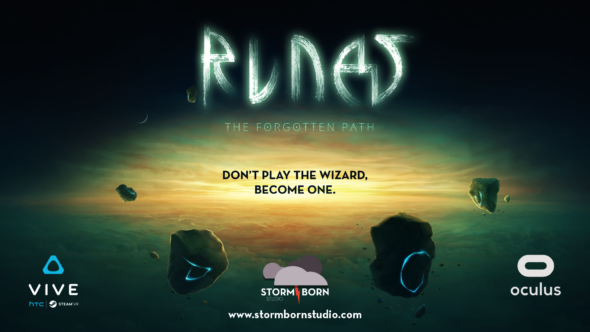 Runes: The Forgotten Path – VR magic Kickstarting later this month