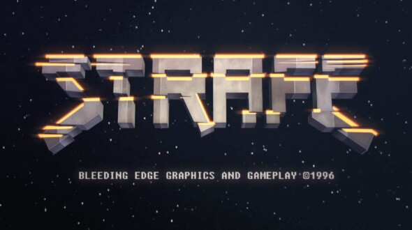 STRAFE preorder available with specials and vinyl editions