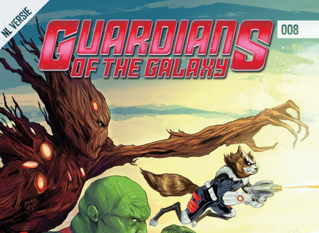 Guardians of the Galaxy #008 Banner