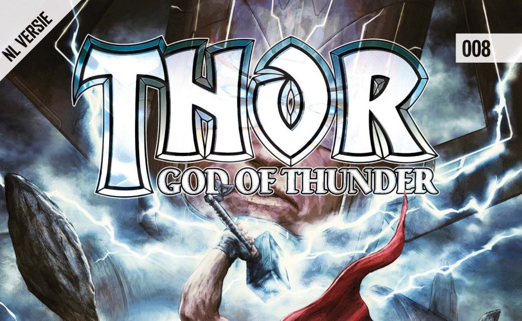 Thor God of Thunder #008 Banner