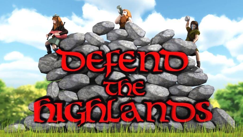defend the highlands banner