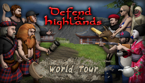 Defend the Highlands World Tour launches