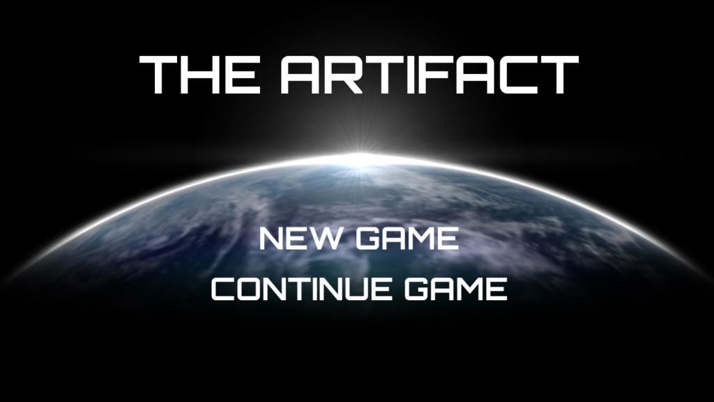 Artifact - title screen