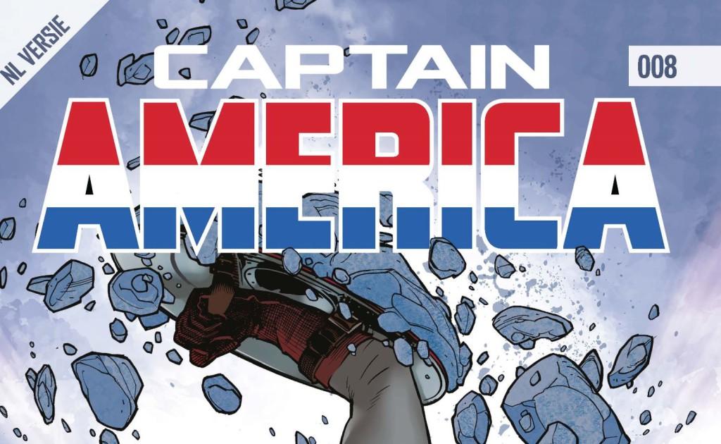 Captain America #008 Banner