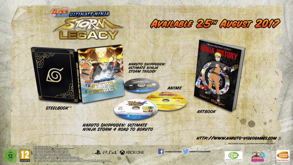 NarutoShippuden Ultimate Ninja Storm Legacy Trilogypackshot