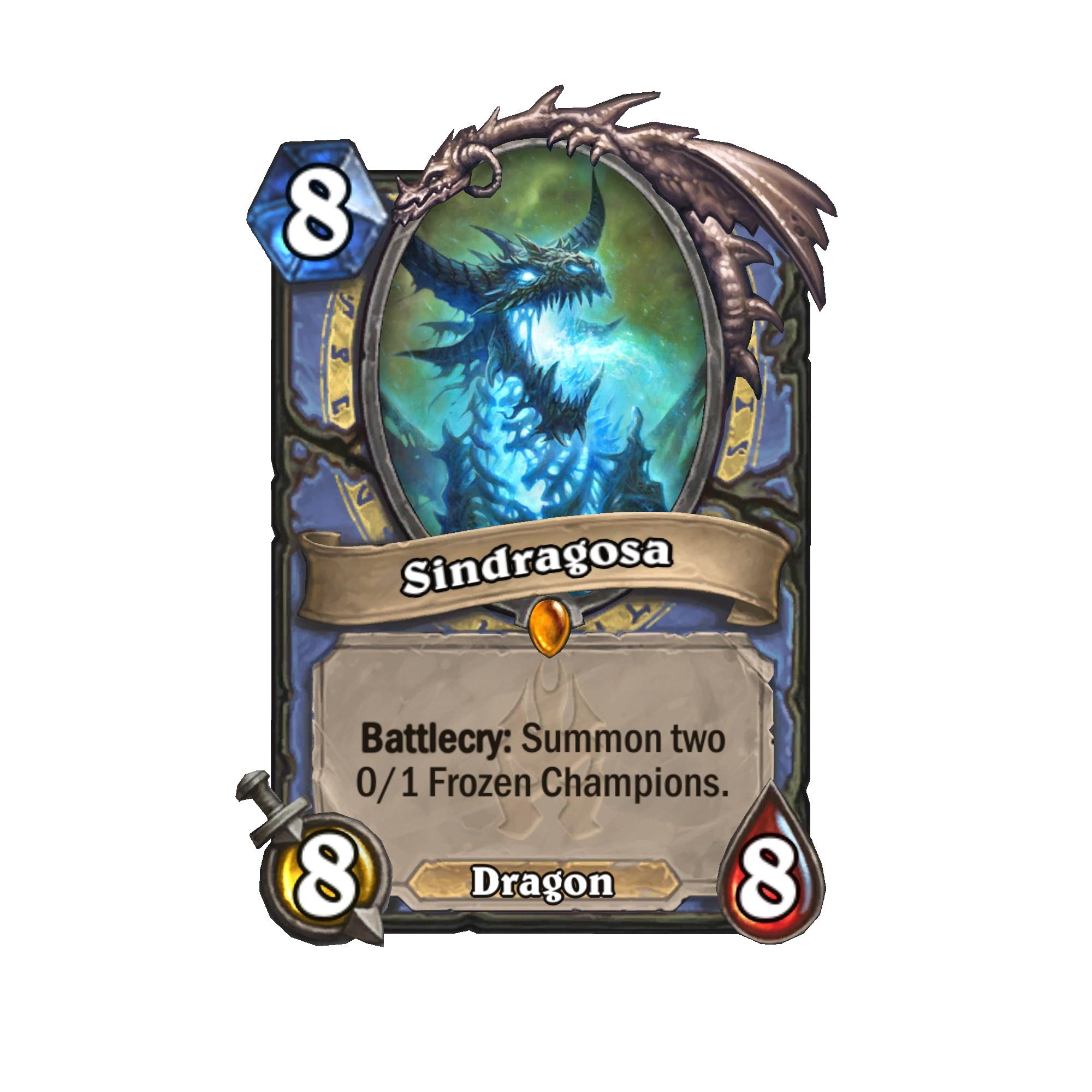 Heathstone Frozen Throne cards (6)