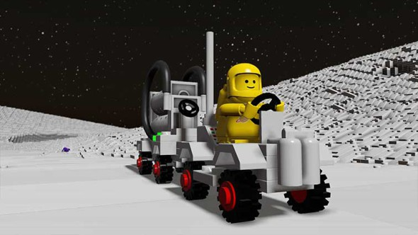 LEGO Worlds Classic Space Pack 1