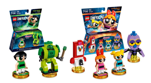 Powerpuff Girls join the wonderful world of LEGO Dimensions