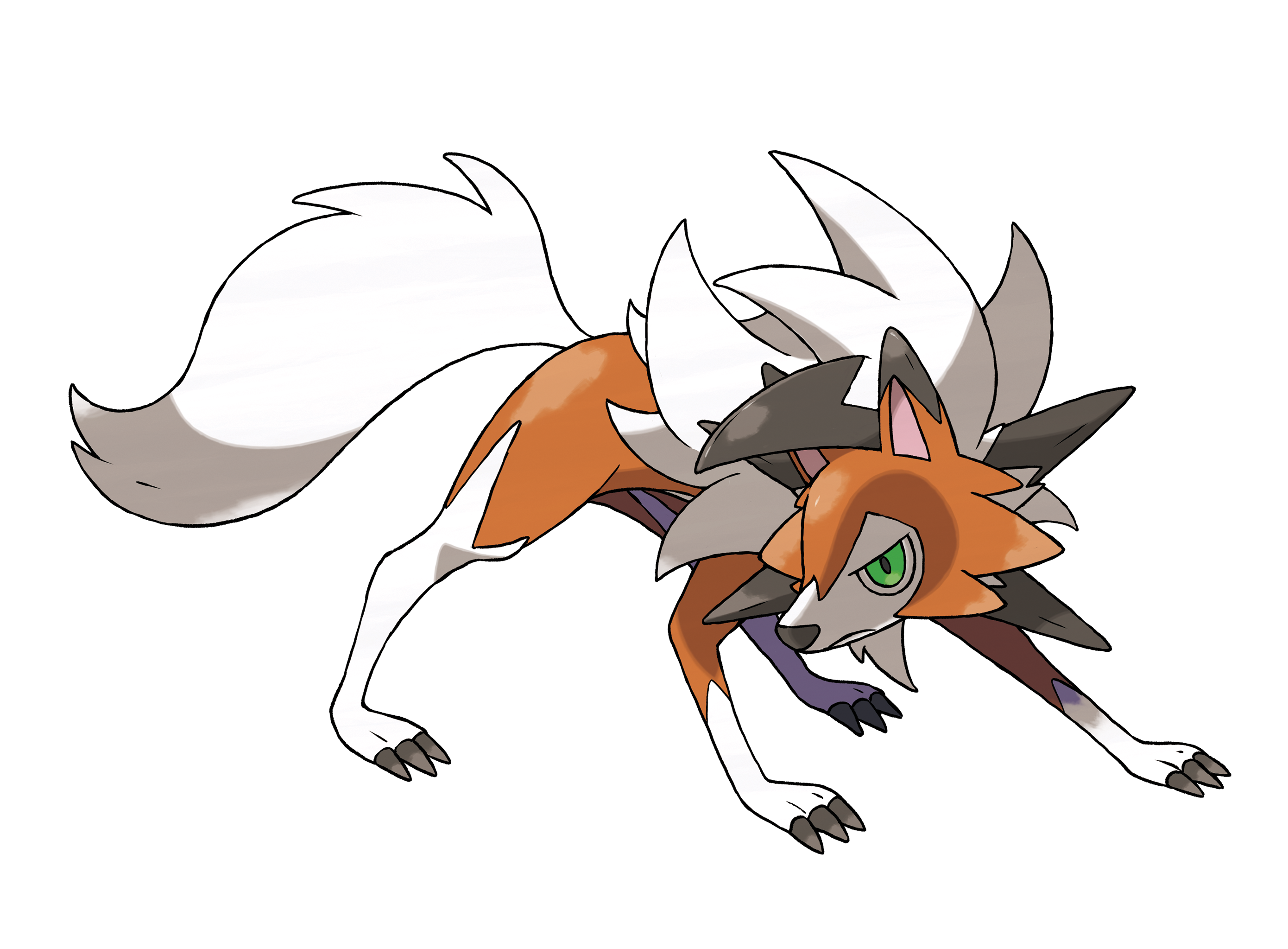 Pokemon ultra sun moon lycanroc (2)