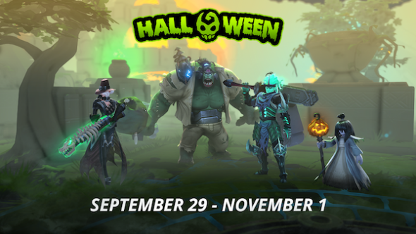 Battlerite halloween event