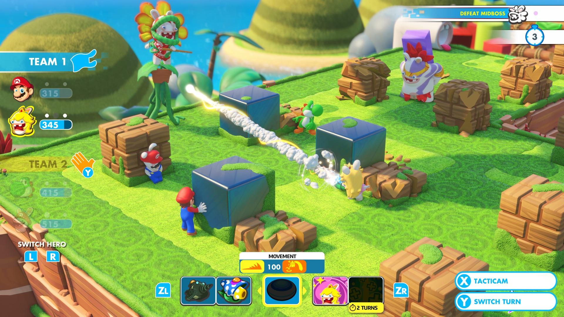 Mario Rabbids Kingdom Battle 1