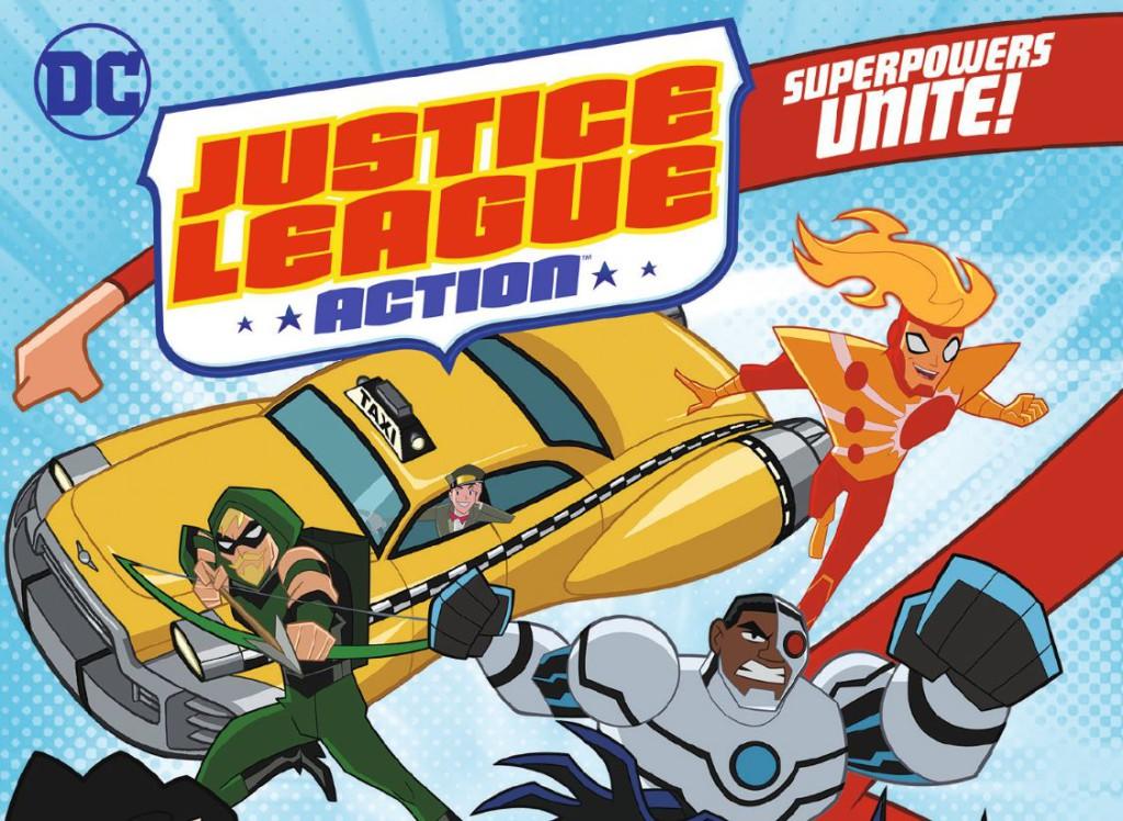 Justice League Action Season 1 Banner