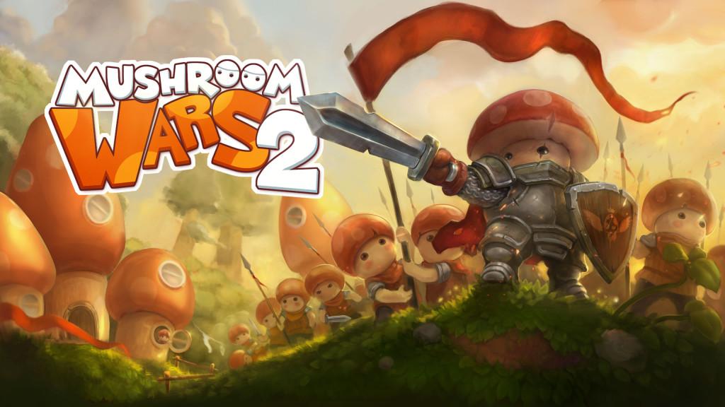 Mushroom wars 2 _ Logo