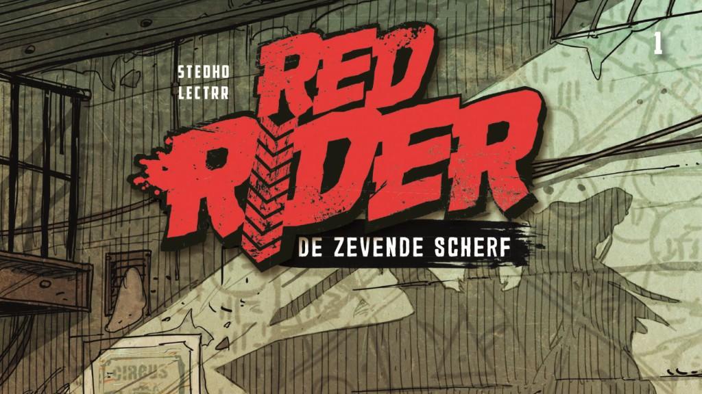 Red Rider #1 De Zevende Scherf Banner
