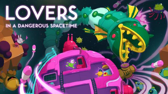 Lovers In A Dangerous Spacetime arrives on Nintendo Switch