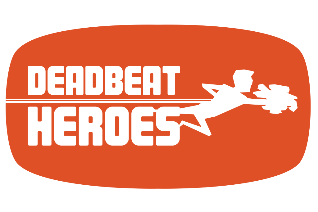 Deadbeat heroes logo