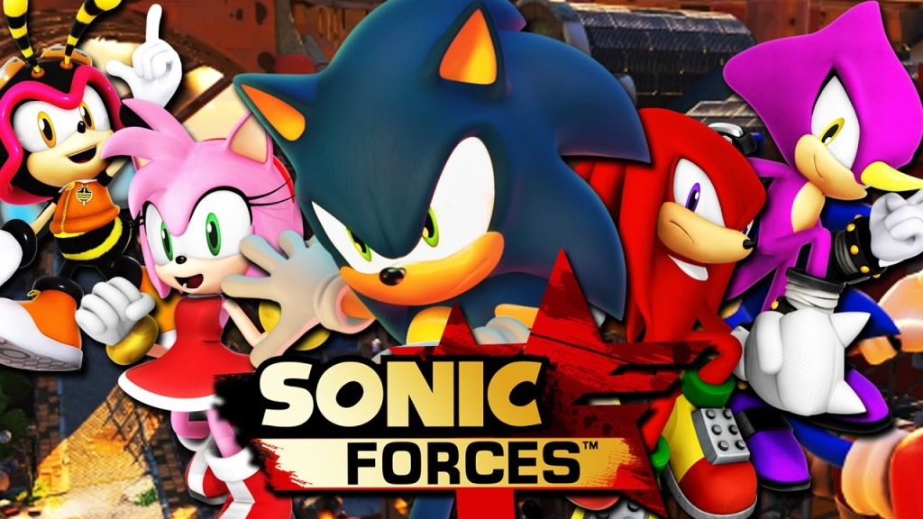 Sonic Forces Banner