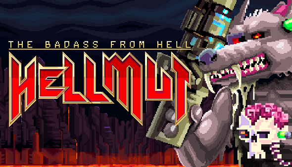 Hellmut: The Badass from Hell – announced for early 2018!