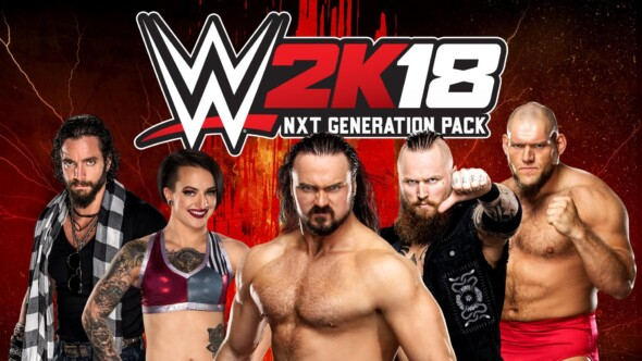 NXT Generation Pack Announced for WWE 2K18