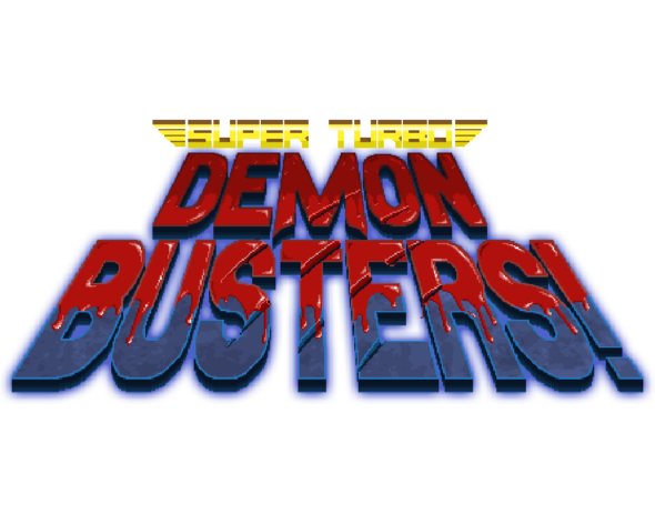 Time to kick demon butt in Super Turbo Demon Busters!