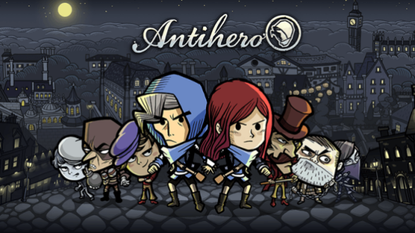 Play a board game on the go with Antihero