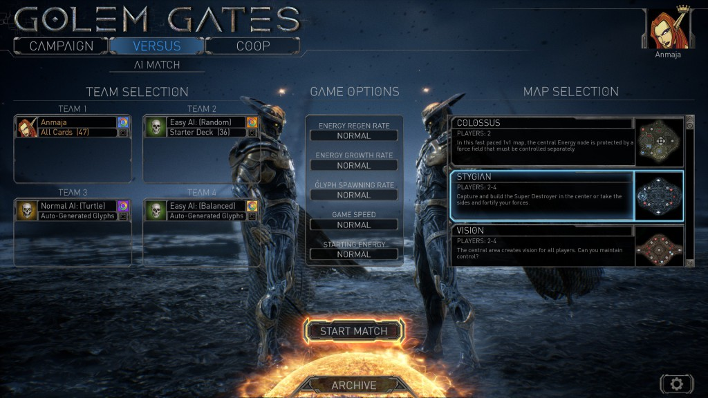 Golem Gates screen 4