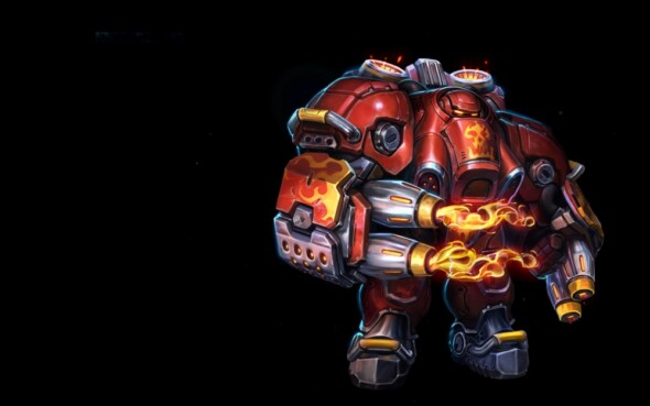A new fiery hero available for Heroes of the Storm!