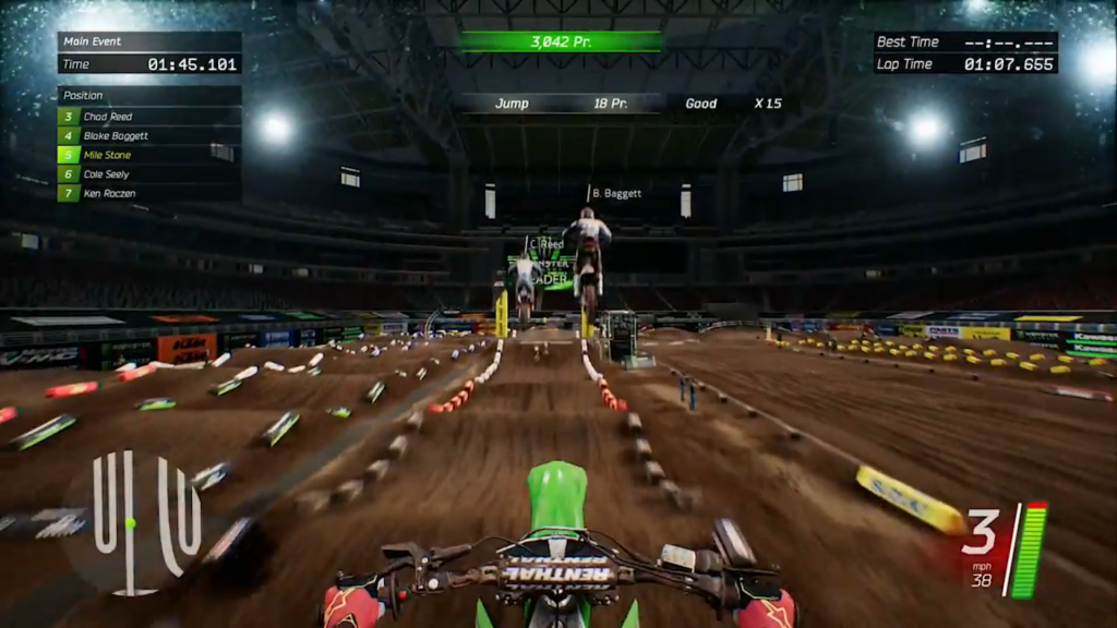 Monster Energy Supercross - screen 1
