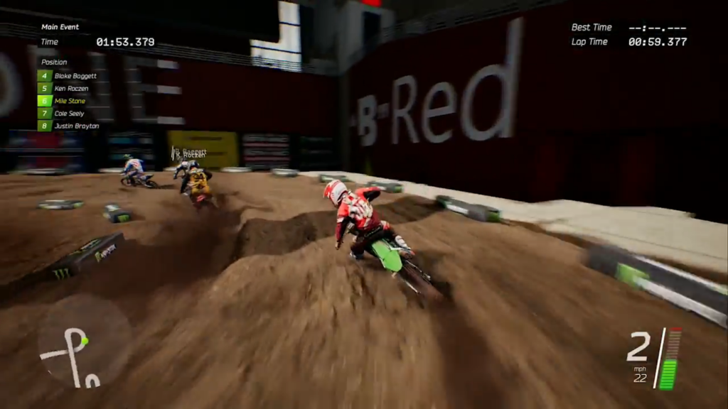 Monster Energy Supercross - screen 2