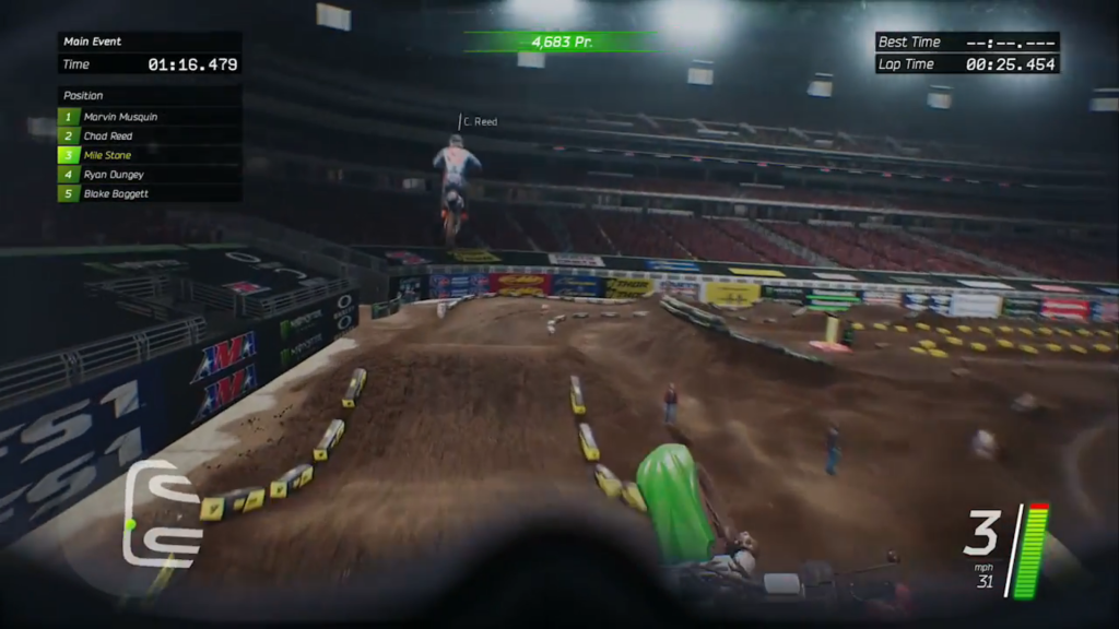 Monster Energy Supercross - screen 3