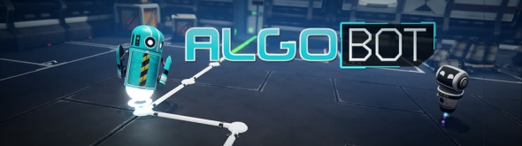 Programming puzzler Algo Bot is available on Steam now!