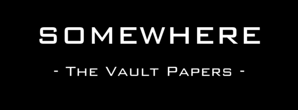 Interactive mobile story in Somewhere: The Vault Papers