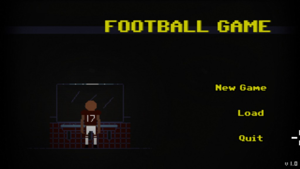 Football Game Banner